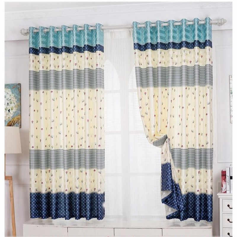 14 models Specials short Pastoral semi-shade curtains for Living Room /Kitchen /Bedroom /Window short curtains custom finished