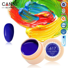 #50618 CANNI Nails Gel Supply Long Lasting Color Gel Lak Led UV Gel Soak Off 141 Colors Sapphire Nail Gel(China)