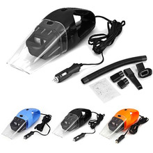 NEW Portable Car Vacuum Cleaner Wet and Dry Aspirador de po dual-use Super Suction 120W Car Vacuum Cleaner (HEPA Filter)