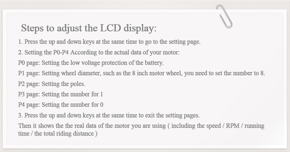 LCD steps