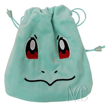 Anime Pocket Monster Squirtle Jewelry/Cell Phone Drawstring Pouch/Wedding Party Gift Bag (DRAPH_20)