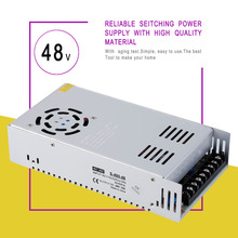 DC 48V 10A Universal Regulated Switching Power Supply for Computer Project With Good Quality & High Performance Drop Shipping