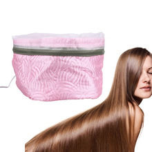 Electric SPA Hair Care Cap Hair Thermal Treatment Beauty Steamer Security Heating Electric Hair Nourishing Hair Dryers(China)