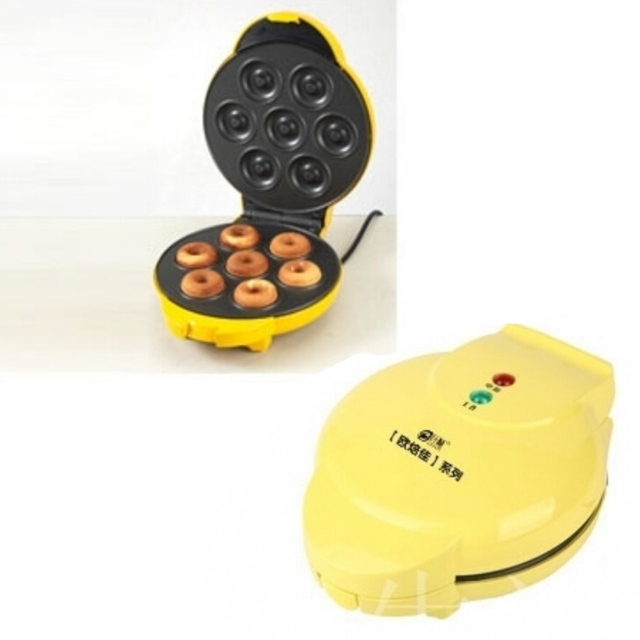 1PC FS-508N 750W Two-side Heating Full Automatic Electric Donut Maker Egg Cake Maker Ball Mould Machine<br>