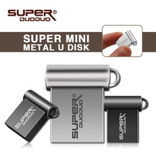 Super mini metal 32gb usb flash drive USB 2.0 4gb 8gb 16gb memory stick 64gb 128gb pendrive real capacity pen drive U disk
