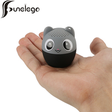Funelego New Design Bluetooth Speaker Portable Outdoor Cute Animal Panda Style Cartoon Subwoofer Loudspeaker H10 With Mic Sound(China)