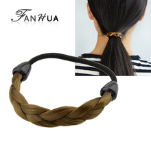 FANHUA  1 PC New Arrival Fashion Plaits Hair Accessories For Women Elascity Hair Accrssories