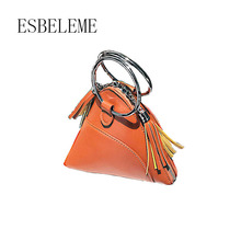 2017 fashion women PU leather mini hobos totes handbag for female black red pink white ladies small wristlets clutch bags YG027