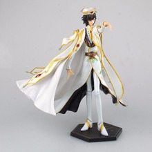 "Free Shipping 10"" Code Geass Anime Kururugi Suzaku - Knight of Seven Boxed 24cm PVC Action Figure Collection Model Doll Toy Gift"