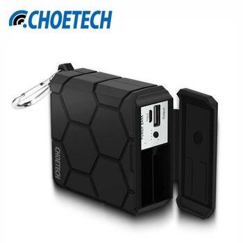 Imperméable à l'eau Deux-En-Un 5200 mAh Puissance Banque & Batterie Chargeur avec Mousqueton Clip pour Gopro Hero 4 Caméra Batterie téléphones Comprimés
