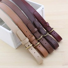 New Arrival Leather DIY Bag Accessories Belt Bag Frame Bag Handle Purse Handle Double adjustment buckle Shoulder Bag Straps