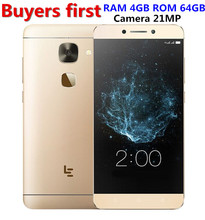 "Original Letv LeEco Le S3 Pro X626 4GB RAM 64GB ROM Helio X20 Deca Core Mobile Phone 5.5"" FHD 21MP Fingerprint ID smartphone(China)"