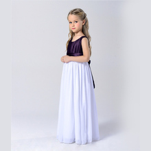 3-14T Good quality girls ball gown party dresses for 3 4  5 6 7 8 9 10 11 12 13 14 years teenager children evening dresses zq58