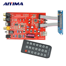 Aiyima HIFI Fever Lossless Music APE Player DAC Decoder Digital Analog Signal Output WAV FLAC Remote Control CS8406 + PCM1802(China)