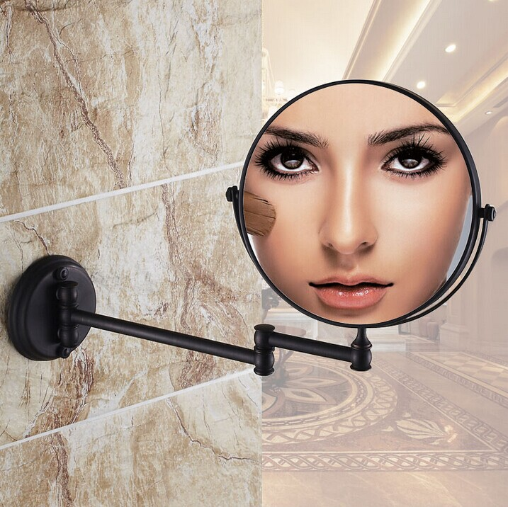 Bathroom makeup mirrors