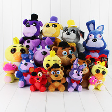8style 30cm Five Nights At freddys Bear Fox Rabbit Stuffed Toys Animals Soft Plush Dolls For Kids Gift