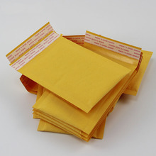 (110*130mm) 10pcs/lots Bubble Mailers Padded Envelopes Packaging Shipping Bags Kraft Bubble Mailing Envelope Bags