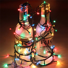 4m 100 LED String Light 6 Colors Party Wedding Twinkle Lamps Christmas Decoration for Dance Halls Store Location Festivals