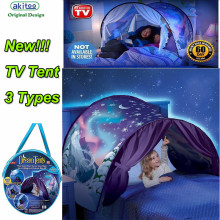 akitoo 104 HOT Best price Star Tent Space Tent Snowflake Tent Foldable Tent Infant Imagine Tent TV New conforting at nights gift(China)