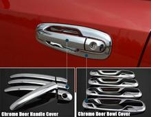 Door Handles Covers For Chevrolet/Lacetti Optra Daewoo Nubira Suzuki Forenza Holden Viva Stickers Car Styling Chrome Exterior