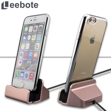 Leebote Charger Dock Station Stand Base Sync Data USB Charging Dock for iPhone 7 7 Plus 6 6S Plus 5 5S SE 5C Desktop USB Charger