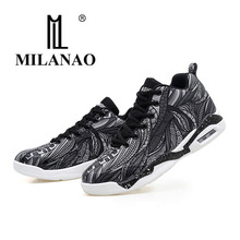 2017 MILANAO Men &women basketball shoes colorful basketball shoes for Men Lace-up basketball shoes Big size 36-47(China)