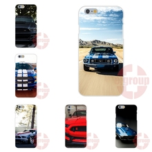 Soft TPU Silicon Cases Fundas For Samsung Galaxy S3 S4 S4 Mini S5 S5 Mini S6 S6 edge S7 S7 edge Ford Mustang S Shelby