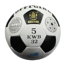 High quality Size5 PU hand stitched soccer ball, official  size5 football free shipping