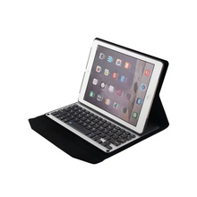 Slim Aluminum wireless Bluetooth Keyboard case For iPad air 2 case with keyboard flip stand magnetic tablet cover for ipad 6(China)