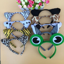 1 Pc Cute Creative Cartoon Animal Decorative Headband Toy Cosplay Headdress Performance Props Funny Game Festival Birthday Gifts(China)
