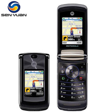"Original Motorola RAZR2 V9 Unlocked cell phone 2.2"" 3G 2.0MP GSM WCDMA Flip mobile phone Free Shipping(China)"