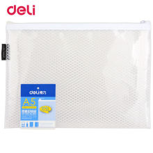 Deli Practical Presentation Folder Statioenry White Waterproof For School Supplies A5 Papel In Point Gridding File Folder(China)