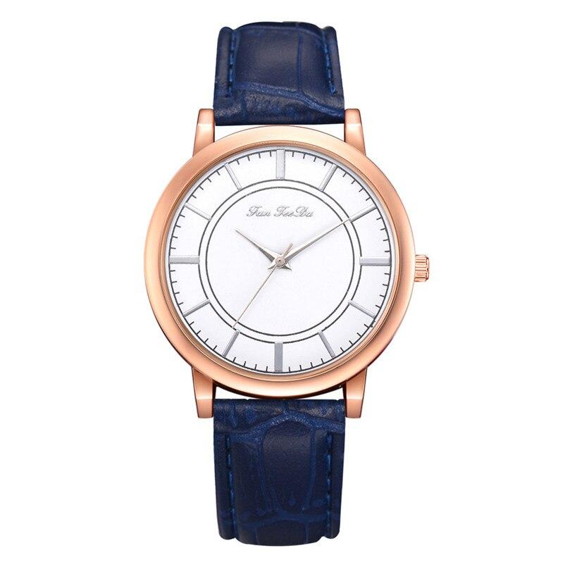 2018 High Quality women fashion casual watch luxury dress ladies  Analog Quartz Leather bands Wrist Watch clock Relogio Y11 (7)