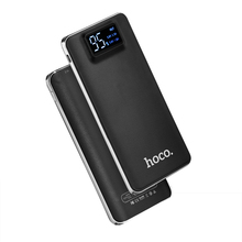 HOCO Power Bank 10000mAh hoco UPB05 External Battery 2 USB Port baterias externas LCD power bank Torch for samsung galaxy s7