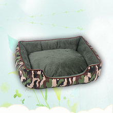 High Quality Winter warm Dog Beds For Pet Dog Camouflage Color Kennel Cat Pad Pet Bed Dog Mat Cushion Puppy Sofa Pet Products