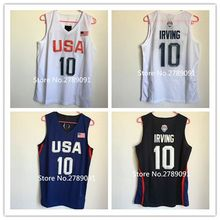 #10 Kyrie Irving 2016 Dream Team USA basketball jersey Embroidery Stitched Customize any size and name