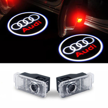 Car door courtesy led car laser projector Logo Light For Audi a3 a4 b6 b8 b7 b5 a6 c5 c6 q5 a5 tt q7 a4l a1 r8 a6l q3 a8 a8l