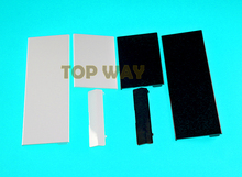 New Memory Card SD Card Door Flaps for Nintendo Wii Console GC Memory Door Covers Lid Replacement 50sets/lot