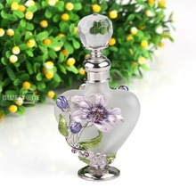 5ml Vintage Mass of flowers Perfume Bottle Empty Refillable Antique Bottles Crafts