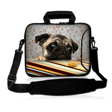 "Cute Puppy 14"" Universal 14.1 14.4 Inch Soft Briefcase Cases Bag For Toshiba Lenovo ThinkPad Acer Notebook Laptop Shoulder Bags"