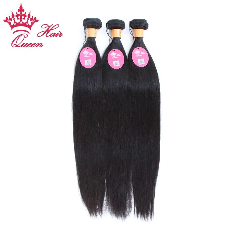 Queen Hair Products Indian Virgin Hair Straight 3pcs 12-28 Indian Human Hair High Quality Thick Human Hair Natural Straight<br><br>Aliexpress