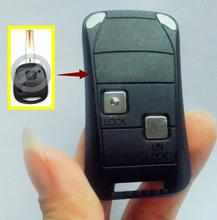 Lexus ES RX RX GS SC LX LS GX IS 2 Buttons Keyless Entry Folding Flip Remote 2 Buttons Key Case Shell Fob+LOGO