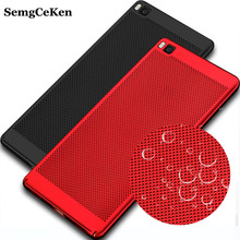 SemgCeKen Luxury Case For Huawei P8 P 8 Original Gold Black Ultra Thin Hard Mobile Phone Back Cover Coque For Huawai P8(China)