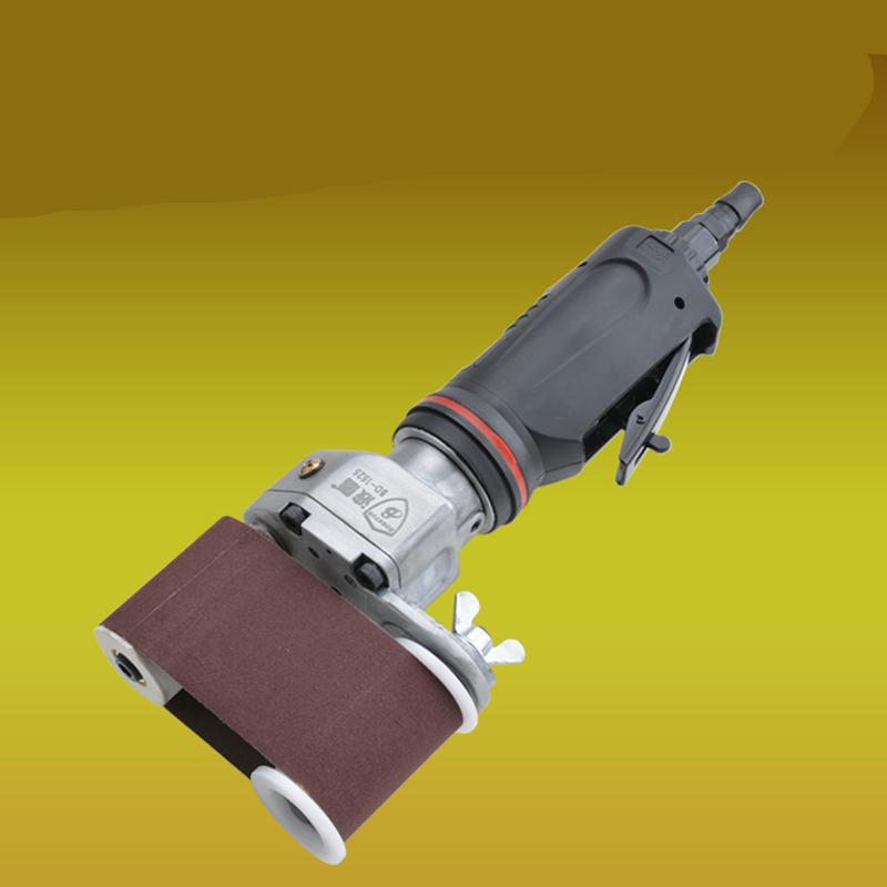 pneumatic air belt sander