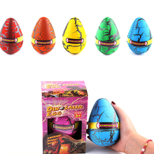 12*8cm Big Size Magic Water Hatching Growing Large Dinosaur Eggs Fun Toy Children Kid Educational Novelty Gag Toys Gift(China)