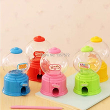 Cute Candy Machine Korean Style Children Plastic Jar Creative Mini Twist Candy Machine Bank ATM Money Box Saving Coin Box(China)
