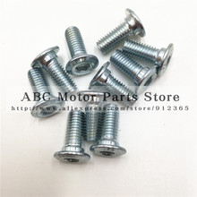 M8*20  bolt of brake disc Dirt pit bike Off-road motorcycle  Kayo160  t8 ph small proud C disgusts dish screw Motocross