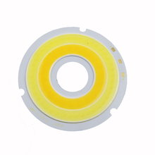 100PCS 20W led Cob chip lighting area D70mm Current 1000mA DC18-21V Round COB chips for led bulb spotlight ceiligh lgiht Diy(China)