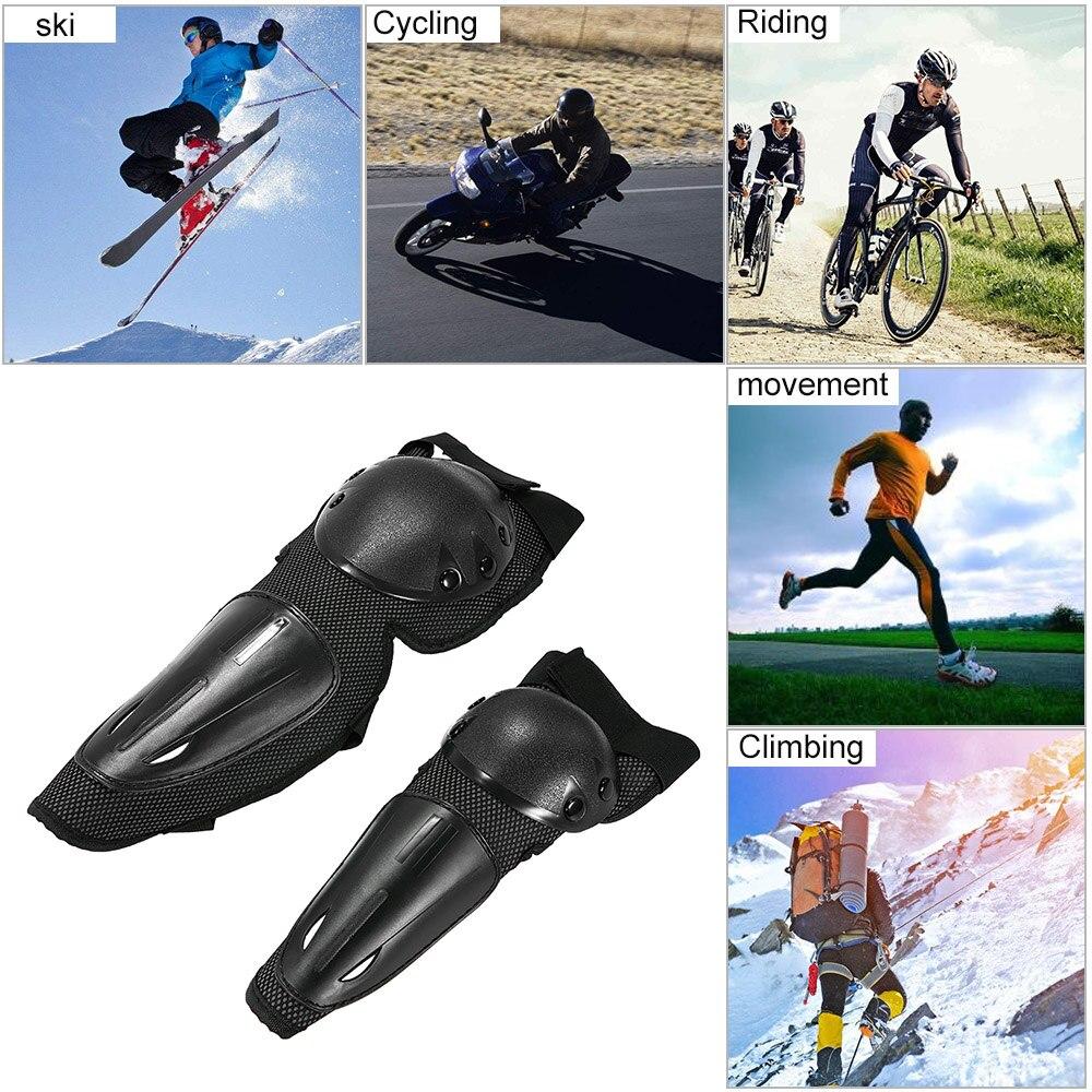 Negro 2 Piezas Cambio de Engranaje Motocicleta Protector Funda de Botos