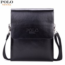 VICUNA POLO Hot Sell Small Mens Messenger Bag Mini Size Double Deck High Capacity Mens Crossbody Bag Simple Mens Flap Bags Hot